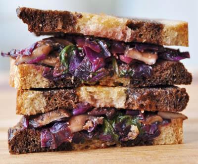 Vegetarian Reubens recipe