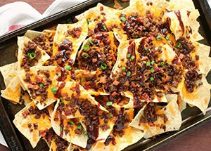 BBQ Bacon Cheeseburger Nachos Recipe