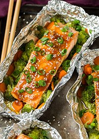 Baked Salmon In Foil Recipe