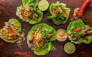 Beef Lettuce Wraps Recipe