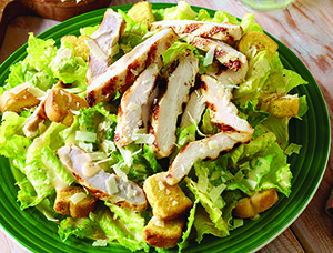 Caesar Salad Grilled Chicken Recipe