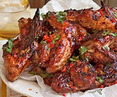 Chili Chicken Wings