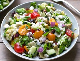 Chopped Greek Salad Recipe Step