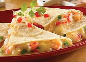 Crab Quesadillas Recipe