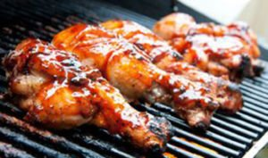 Grilled chicken Florida Barbeque sauce
