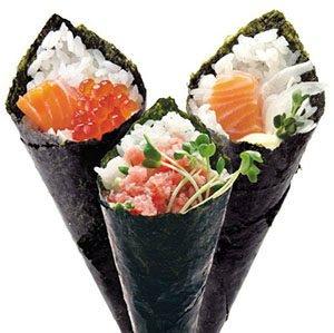 Hand Rolls (Te Maki)-types of sushi