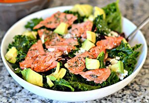 Massaged kale salad Hard boiled eggs recipe