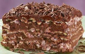 Passover Matzo Layer Cake recipe