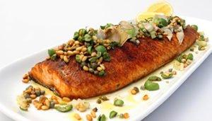 Sicilian Salmon recipe