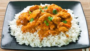 Spicy Chicken Curry