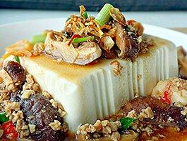 Steamed Tofu recipe step by step