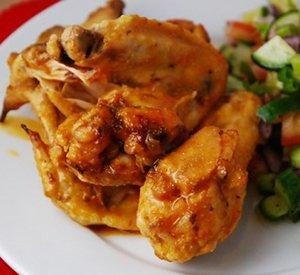 Tabasco chicken wings