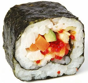 Thick Rolls (Futo Maki)-type of sushi