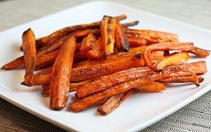 Zesty Carrot Fries Recipe