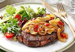 German Beefsteaks Recipe