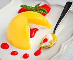 Mango Bombe Recipe