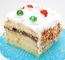 Rum Custard Cake Recipe
