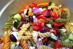 Greek Pasta Salad Recipe