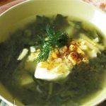 Green Borscht Recipe