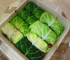 Savoy Cabbage Rolls Recipe