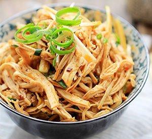 Shredded Chicken Salad Recipe