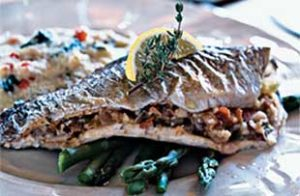 Stuffed Trout Recipe